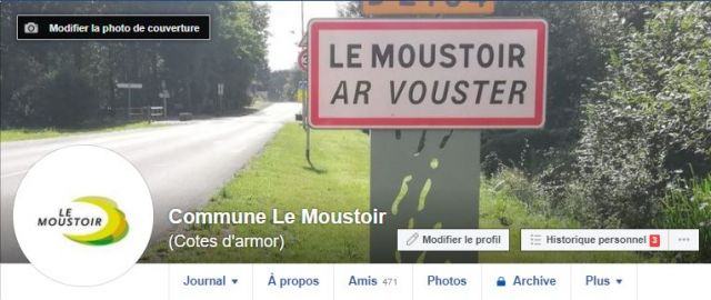 Le Moustoir sur Facebook